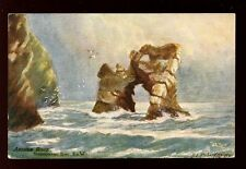 Hampshire IoW Freshwater Bay artist R E Richardson Tuck Oilette #7102 PPC