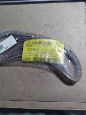 Klingspor Lot Of 10 12 X 24 80 Grit Sanding Belts