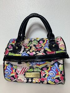 Betsey Johnson Betseyville Candy decor Lunch Cooler Bag Purse