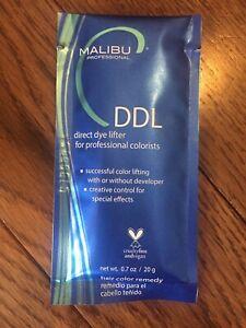 Malibu C DDL Direct Dye Lifter Hair Color Repair + Processing Cap Fix Removal