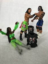 USO Brothers & Naomi Elite WWE Action Figures w USO gear! Excellent Condition!