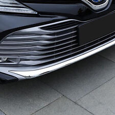 Chrome Front Grille Bumper Strip Cover Trim For Toyota Camry 2017 2018 2019 LE