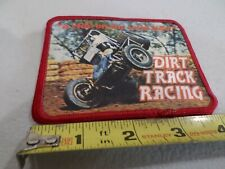 "Vtg Sprint Car Dirt Track Rcg.Lealand Mcspadden'S""A Ride On The Wild Side""Patch"