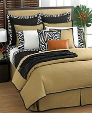 Ralph Lauren Rodeo Drive Tan Solid King Bed Skirt 78x80