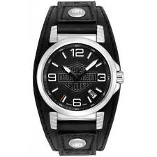 Harley Davidson 76B163 Gent's Strap Watch
