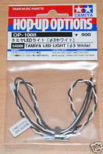 Tamiya 54008 LED Light (3mm White) (Use with TLU-01 & TLU-02), NIP