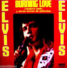LP - ELVIS PRESLEY - BURNING LOVE (ARDIENTE AMOR Y OTROS EXITOS DE PELICULAS) NM