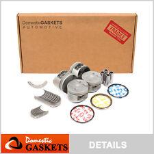 Fit 93-96 Honda Prelude VTEC DOHC Full Gasket Pistons Bearings Rings Set H22A1