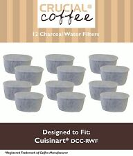 12PK Cuisinart CHW-12 CoffeePlus Replacement Water Filter Replaces DCC-RWF-1