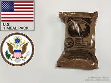 MREs (Meals Ready-to-Eat) Genuine U.S. Military Surplus best before 05-2019