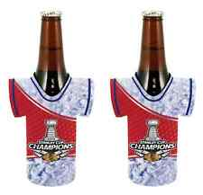 Chicago Blackhawks 2015 NHL Stanley Cup Champions Bottle Jersey Coolers - 2 pack