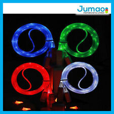 Cable de charge Micro gamer LED 1M pour Wiko Bloom/Darkfull/Cink Slim/Cink lggy
