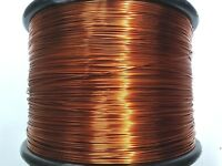 "Essex Magnet Wire 14 AWG Gauge 0.0675"" 1.5 LB 118ft Enameled Copper Coil Winding"