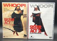 DVD: Sammlung SISTER ACT 1-2 (1 + 2) Komplett Deutsch