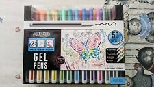 ArtSkills 50pk GEL Pens for Coloring Writing Labeling and Taking Notes