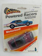 Vintage Zee Grippers Powered Racers Maroon Corvette Motorized