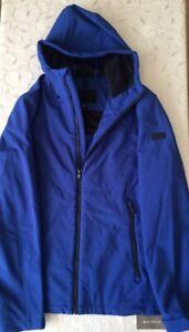 Michael Kors Men's Blue Hooded Jacket/ Jacket (Size S)