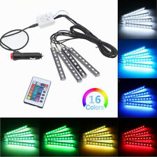 Car Accessories Decorative RGB Lights Interior Multicolor Foot Mood Light Remote