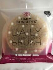 Daily Concepts Daily Detox Massage Brush Fabfitfun Spring 2019 New