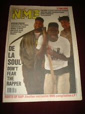 NME 1989 OCT 21 DE LA SOUL LOU REED WEDDING PRESENT GRATEFUL DEAD ALL ABOUT EVE