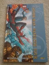 Spider-Man Fantastic 4 Four French Marvel Comics France Book Graphic Novel Thing