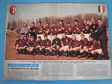 MILAN SCUDETTO CAMPIONE CORRIERE DEI PICCOLI 12 1962 + PICCOLISSIMI E IL LAZIO