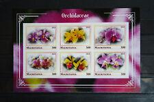 Orchideen 49 orchid Eritrea Blumen flowers Flora Pflanzen plants postfrisch MNH