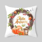 Fall Thanksgiving Halloween Rustic Cushion Cover Pillow Case Sofa Home Decor Art