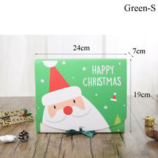 Christmas Eve Gift Box Favour Present Gifts Wrapping Bag Candy Boxes Party Decor