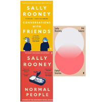 Sally Rooney 3 Books Collection Set  Normal, Conversations, Mr Salary PB NEW