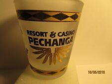Pechanga Resort & Casino- Temecula,CA. -Shotglass ( Gold/ Frosted ) - NEW