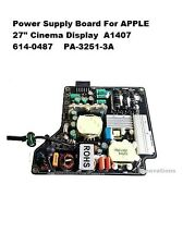 "250W Scheda di alimentazione per Apple 27 "" Cinema Display 614-0487 PA-3251-3A"