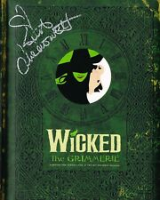 WICKED Grimmerie SIGNED Book Kristen Chenoweth COA
