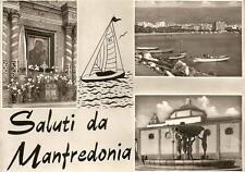 Saluti da MANFREDONIA  -  Madonna di Siponto - Esterno del Porto - Il Duomo
