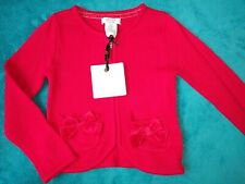 BNWT girls red Miss Mona Mouse cardigan. 3-4 years.          4/2