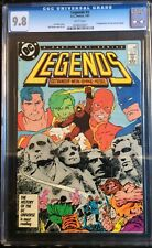 Legends #3 1st Appearance of New Suicide Squad CGC 9.8