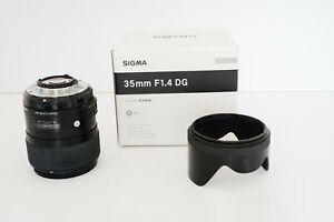 Sigma 35mm f/1.4 DG HSM Lens for Nikon