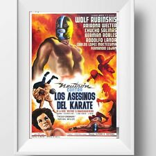 Neutron Vs The Karate Assassins Poster Retro Huge : #208632