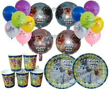 Puppy Dog Pals Balloons, Banner, Plates, Cups, Birthday Party Decorations Supply