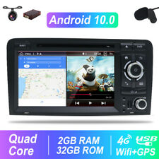 For Audi A3/S3/RS3 2003-2013 32GB Android 10.0 Car DVD GPS Navi Stereo DVD USB
