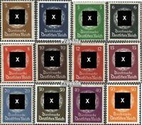 Deutsches Reich D132-D143 (kompl.Ausg.) postfrisch 1934 Dienstmarken