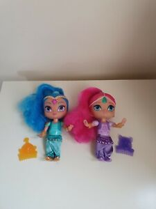 2 X Shimmer And Shine Dolls
