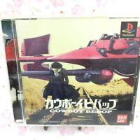 USED PS1 PS PlayStation 1 Cowboy Bebop 10221 JAPAN IMPORT