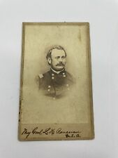 Civil War Union Soldier Major General - Identified  CDV Photo