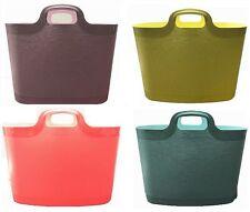 2 x Flexi Tub Storage Laundry Clothing Basket Plaster Bucket Home Garden 24.5L