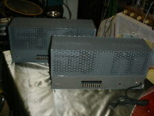 "Rare Pair UTC LS-63 Linear Standard Amplifier called ""the Better Williamson"""