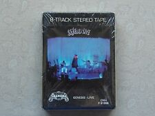 GENESIS LIVE Sealed New NOS 8 Track Tape Charisma 1973 F81666 Peter Gabriel Rare