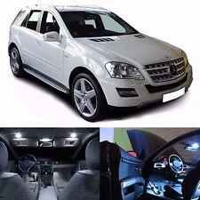 LED White Lights Interior Package Kit For Mercedes ML W164 2006-2011 (18 LEDs)