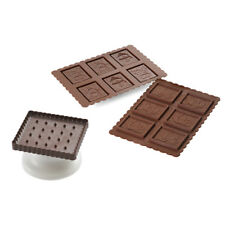 Silikomart CKC01 Cookie Cutter & Chocolate Mold Kit, Snowman