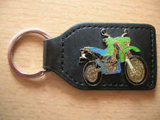 Schlüsselanhänger Kawasaki KLX650 KLX 650 grün Motorrad Enduro 0246 Motorbike